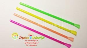Tropical Schaafijs Neon Rietjes